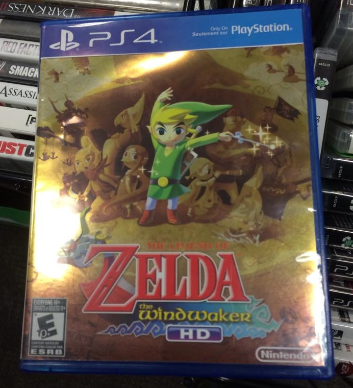4 Games That Comes With Ps4 : Zelda coming to ps
